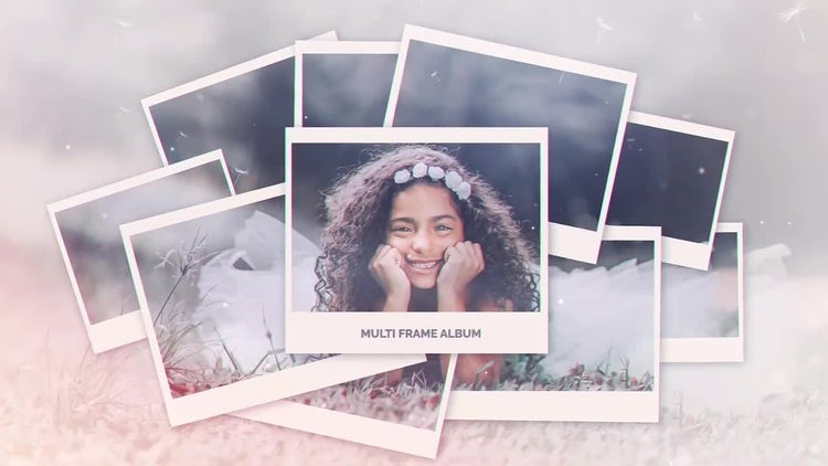 Multi Frame Photo Gallery: After Effects Templates