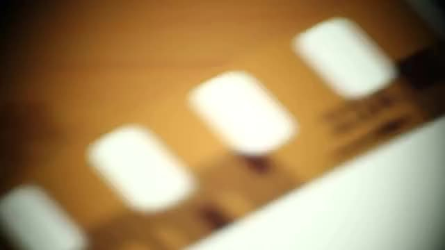 Cinema Film In Defocused Frame: Stock Video