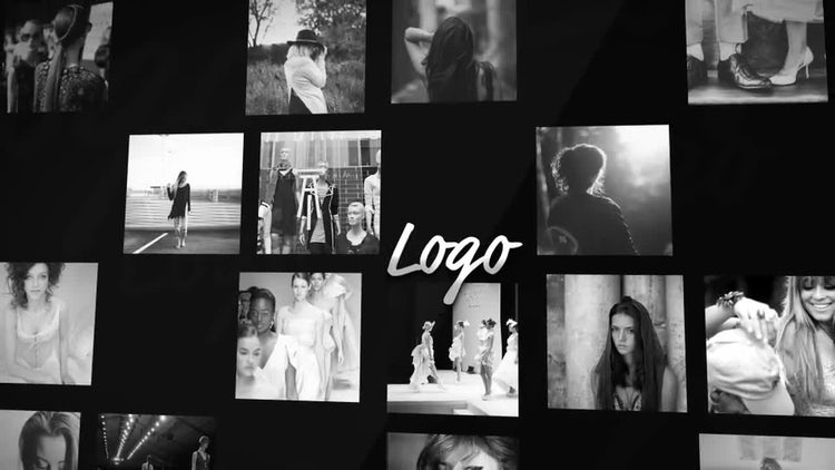 4K Model Portfolio Logo Opener: After Effects Templates