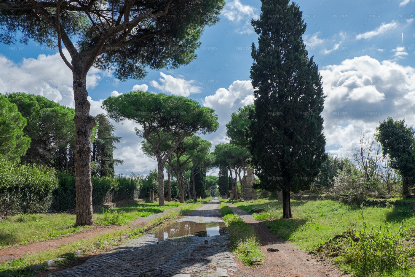 The Appian Way: Stock Photos