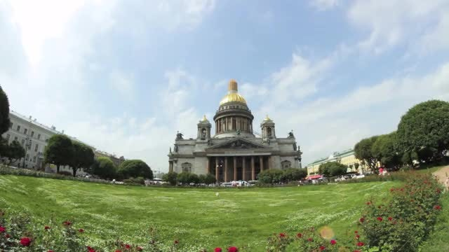 Saint Isaac's Cathedral : Stock Video