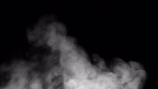 Thin Smoke Blowing: Stock Video