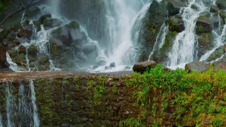 Multi-Tier Waterfall: Stock Video