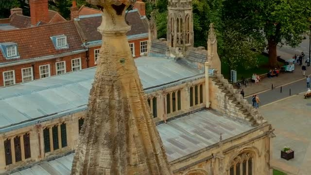 York Cathedral, England: Stock Video