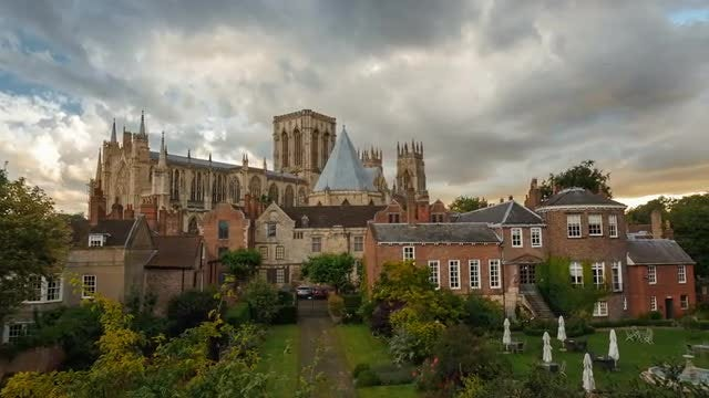 York Minster, England, UK: Stock Video
