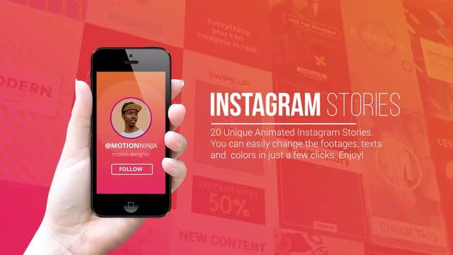 Instagram Stories: Motion Graphics Templates