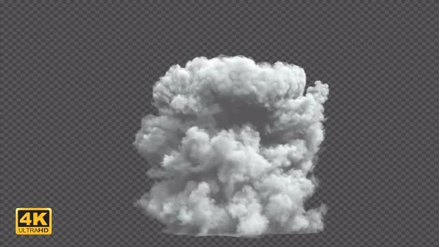 Smoke Blast 3: Stock Motion Graphics