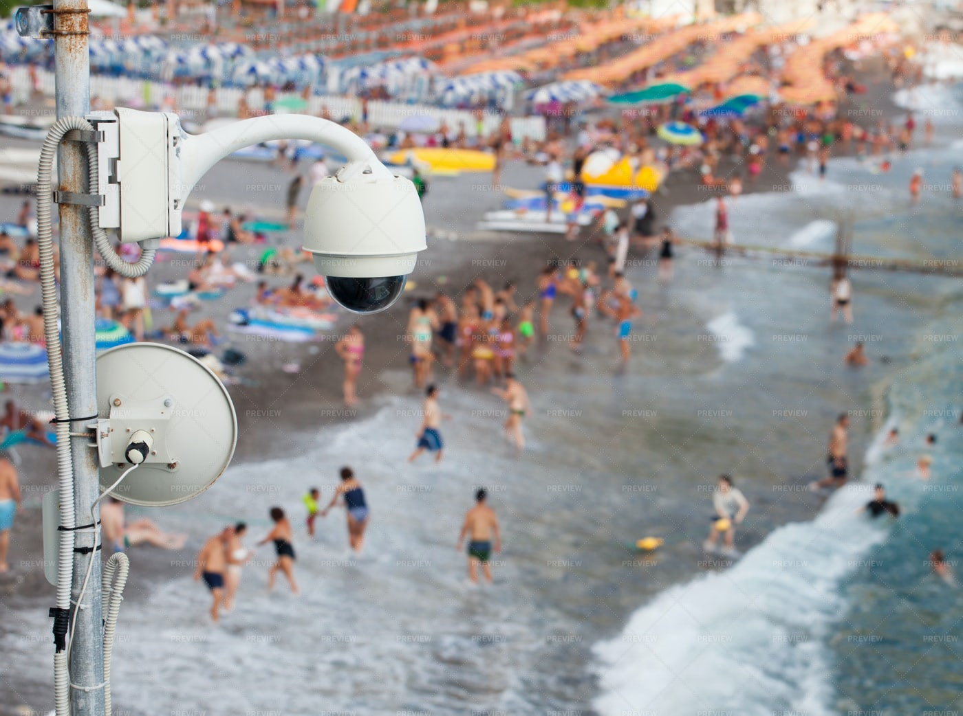 Video Surveillance System: Stock Photos