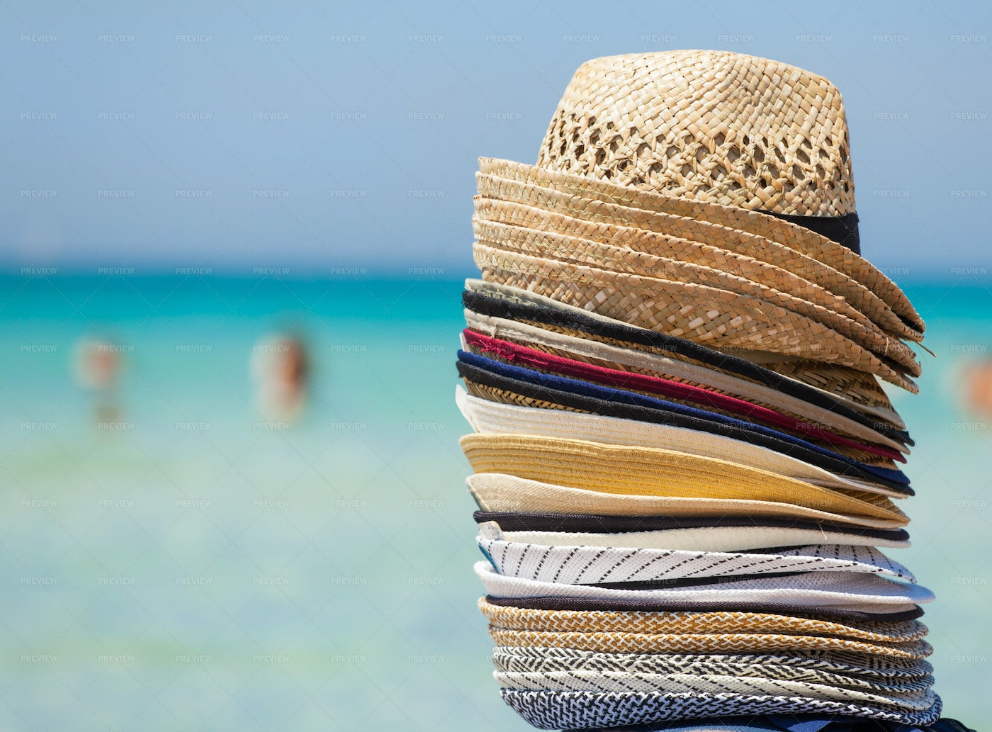 Colorful Hats: Stock Photos
