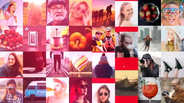 Multi Photo Intro: After Effects Templates