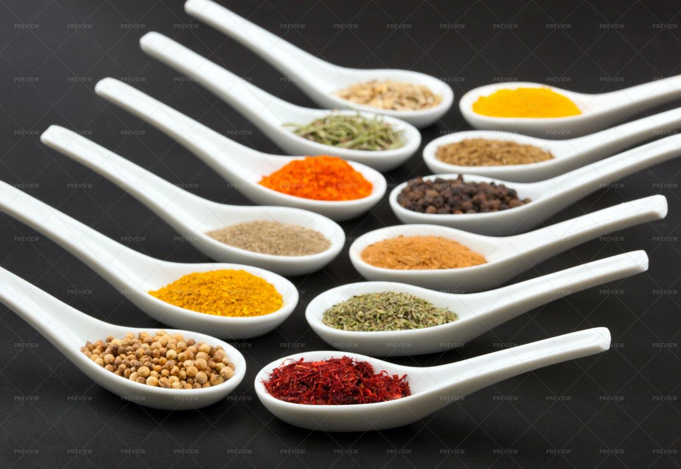 Twelve Spices: Stock Photos