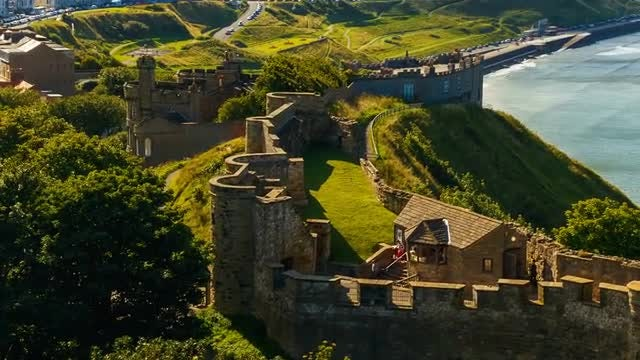 Scarborough In England: Stock Video
