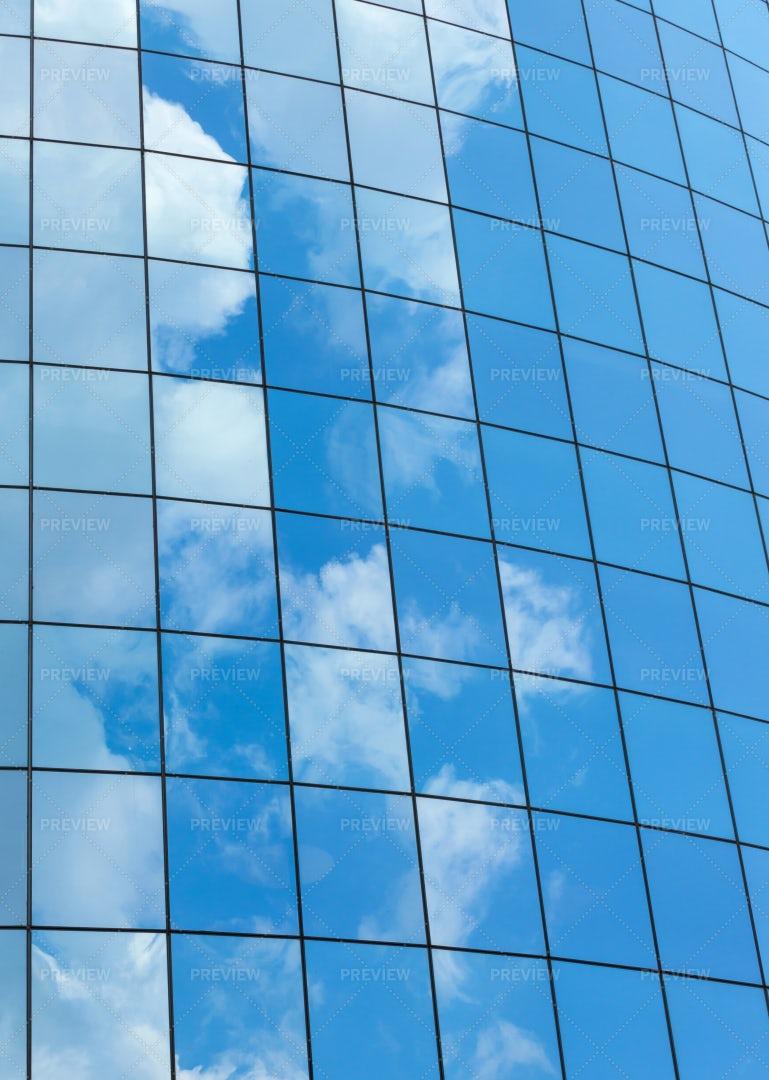 Glass Skycrapers Background: Stock Photos