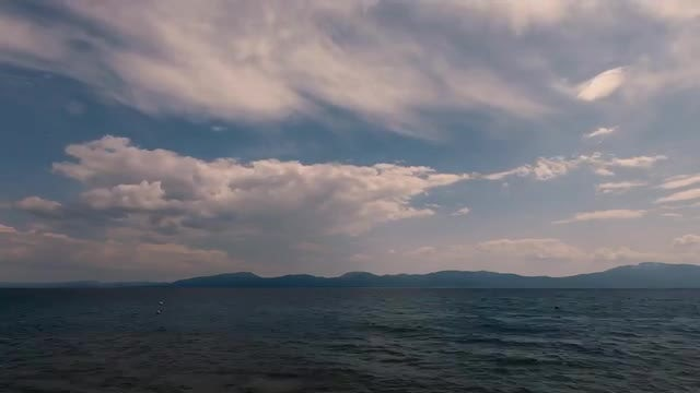 Time Lapse Of Ocean: Stock Video