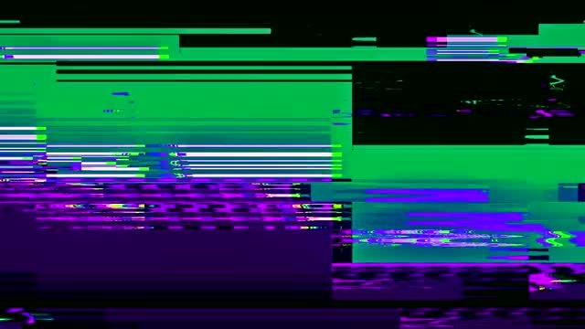 Glitch Background: Stock Motion Graphics