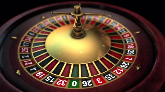 Roulette Wheel Spinning: Stock Motion Graphics