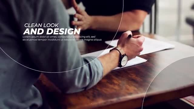 Circle Corporate Slideshow: Premiere Pro Templates