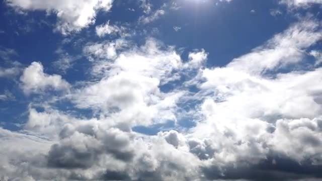 Majestic Clouds Time Lapse : Stock Video