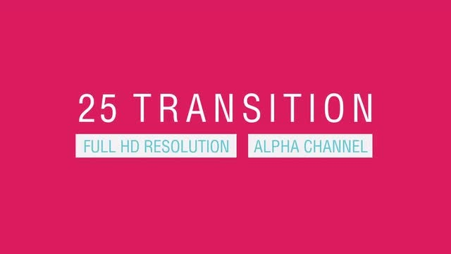 Bright Colors Geometric Transitions Pack: Stock Motion Graphics