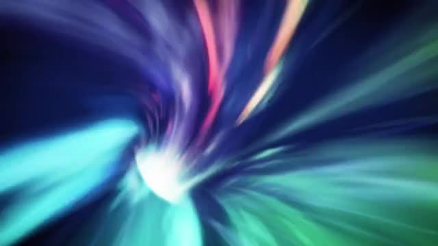 Rainbow Light Speed: Stock Motion Graphics