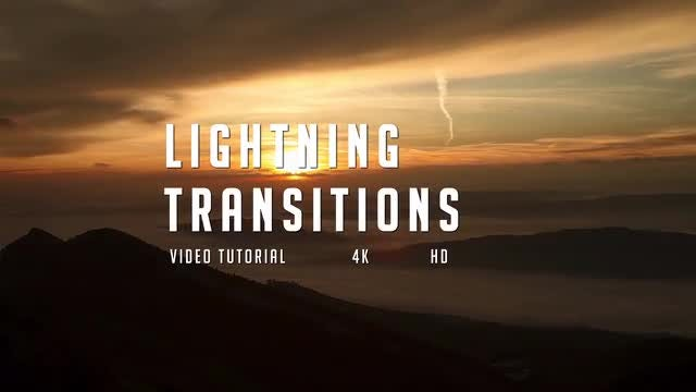 Lightning Transitions Pack: After Effects Templates
