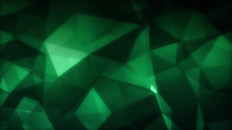 Emerald Polygons: Stock Motion Graphics