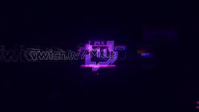 Glitch Cyber Logo: After Effects Templates