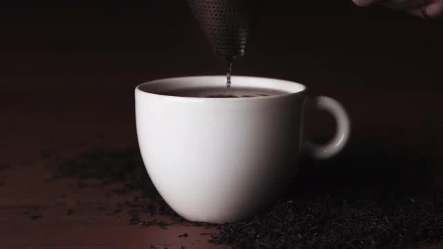 Preparing Hot Tea : Stock Video