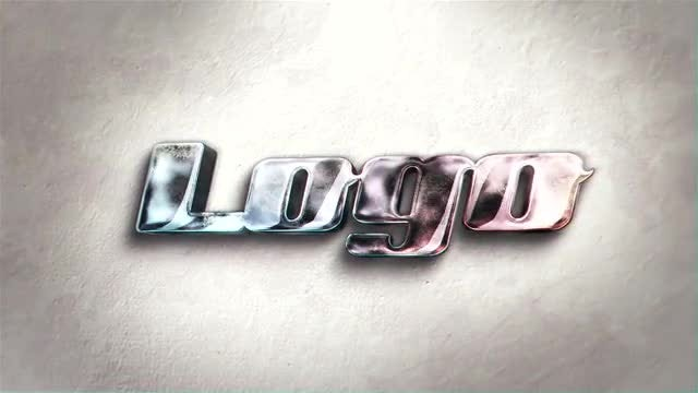 Glass Light Logo: After Effects Templates