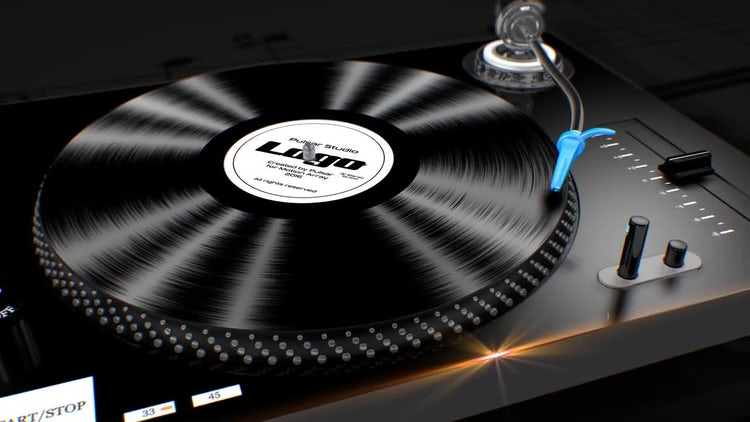 Turntable Logo: After Effects Templates