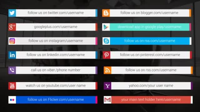 Social Media Promotion Titles: After Effects Templates