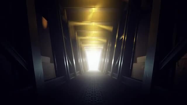 Spaceship Corridor BG: Stock Motion Graphics