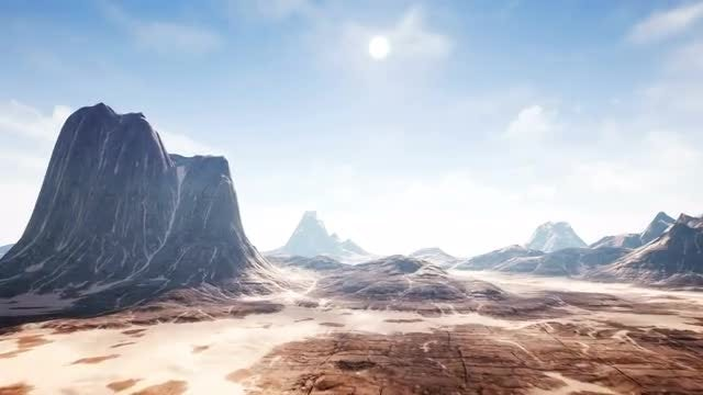 Timelapse View Over A Beautiful Canyon: Stock Motion Graphics