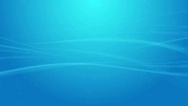 Blue Wave Lines Background Loop: Stock Motion Graphics