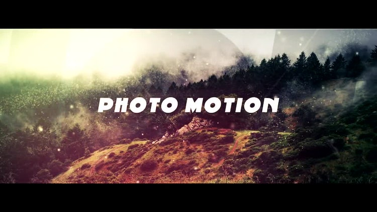 Photo Motion: After Effects Templates