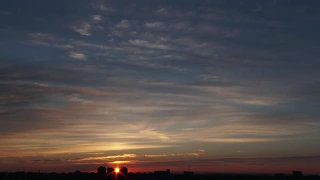 Time Lapse Of Sunrise: Stock Video