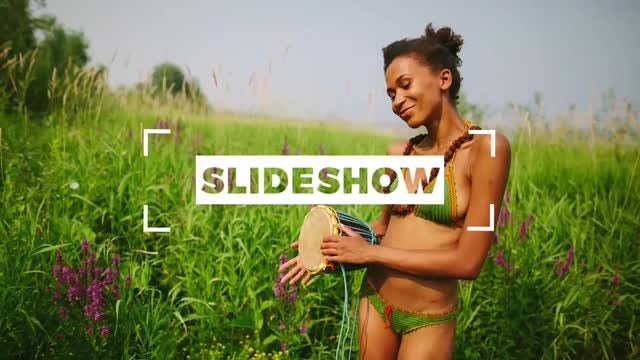 Sweet Colorful Slideshow: Premiere Pro Templates