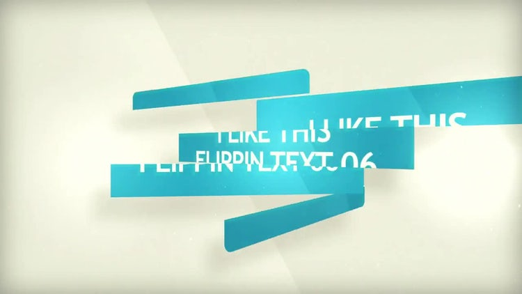 Type Flippin: After Effects Templates