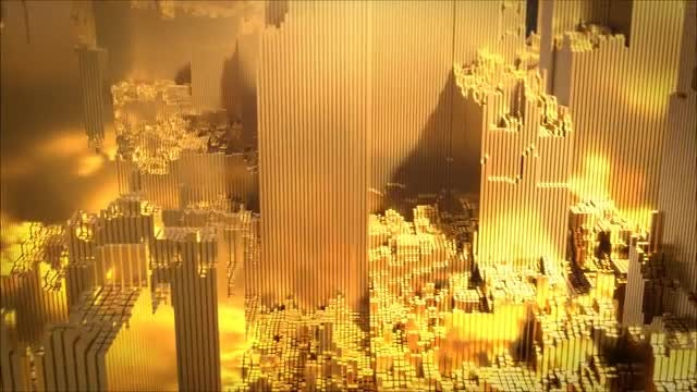 Gold_City: Stock Motion Graphics