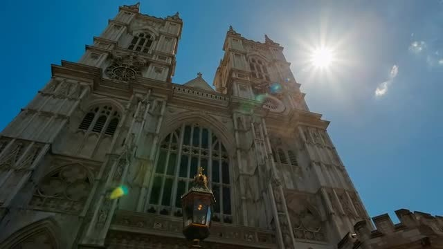 Westminster Abbey Museum in London: Stock Video