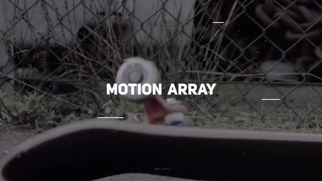 Modern Urban Glitch Opener: Premiere Pro Templates
