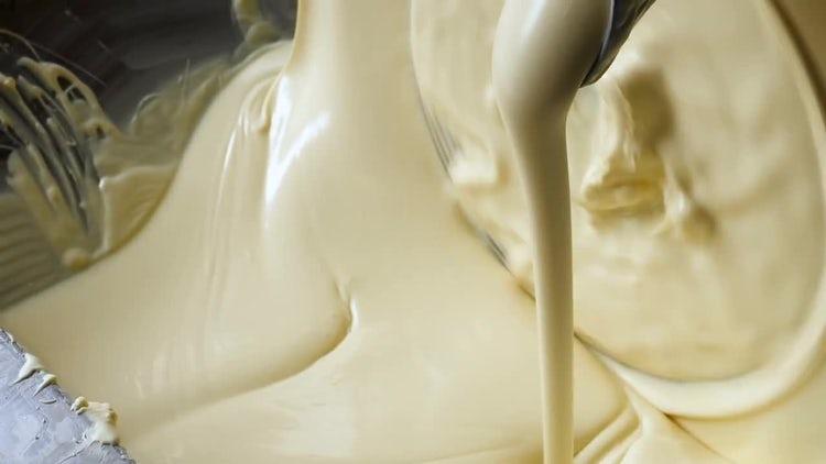 Preparation Of White Chocolate: Stock Video