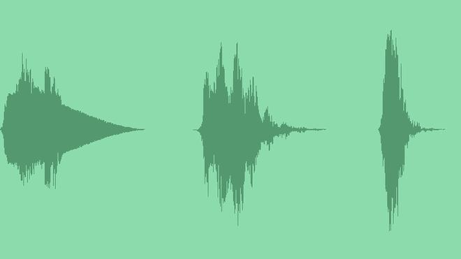 Transitions Sci-Fi Space Futurism Alien: Sound Effects