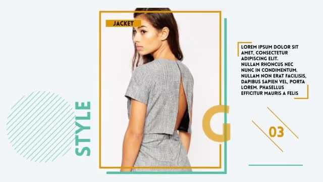 Fashion Promo Opener: After Effects Templates
