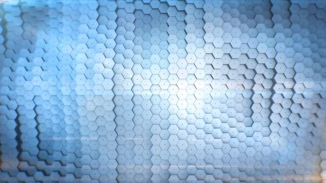Abstract Hexagon Background: Stock Motion Graphics