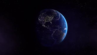 Earth West Night: Motion Graphics