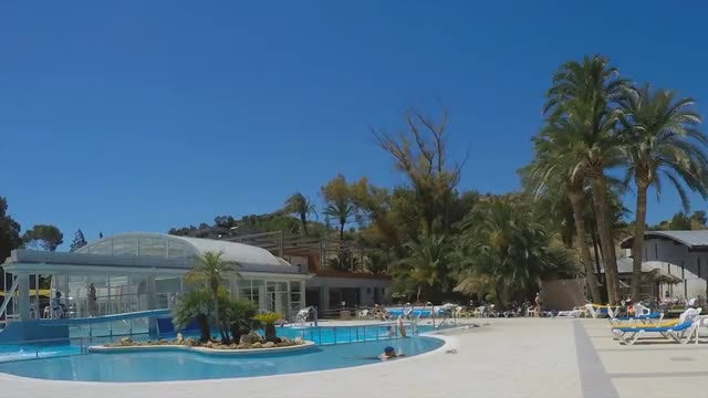 Spa Pool Time-LApse: Stock Video