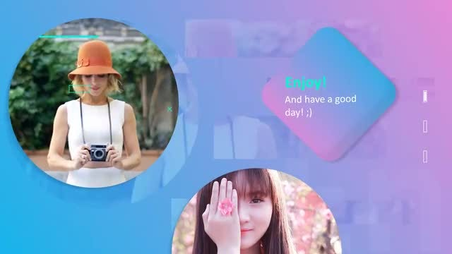 Happy Gradient Slideshow: After Effects Templates