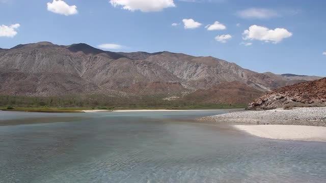 Desert And Water Scenic Pack : Stock Video