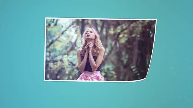 Romantic Photos Slideshow: After Effects Templates